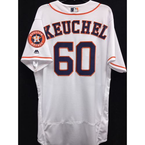 Photo of Team-Issued 2016 Dallas Keuchel Home White Jersey