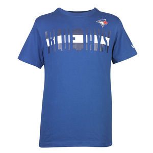 Toronto Blue Jays 3D Block Crewneck T-Shirt by New Era