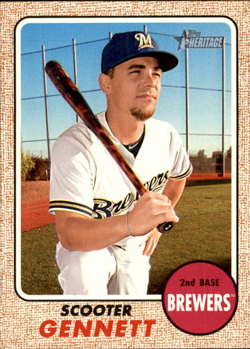 Photo of 2017 Topps Heritage #262 Scooter Gennett