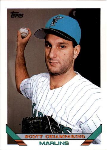 Photo of 1993 Topps #711 Scott Chiamparino