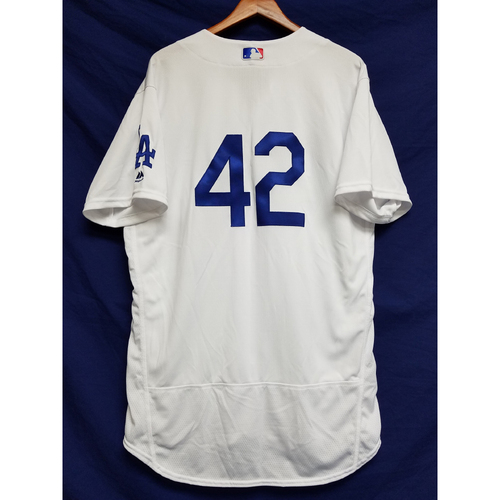 "Photo of Chris Hatcher Game-Used ""42"" Jersey"