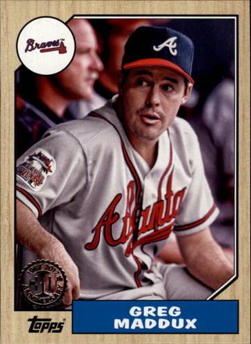 Photo of 2017 Topps '87 Topps #8780 Greg Maddux