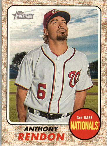 Photo of 2017 Topps Heritage #355 Anthony Rendon