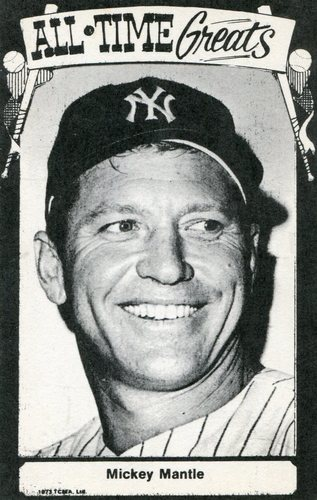 Photo of 1973-79 TCMA All-Time Greats #93 Mickey Mantle