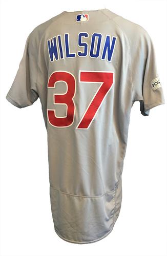 Justin Wilson Team-Issued Jersey -- Postseason 2017