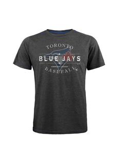 Toronto Blue Jays Triblend Contrast Stitch T-shirt by Majestic Threads