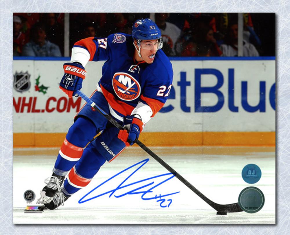 Anders Lee New York Islanders Autographed 8x10 Photo