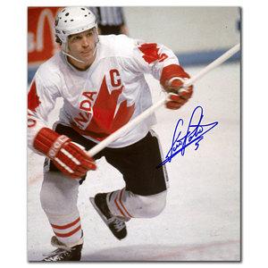 Denis Potvin Team Canada Autographed 8x10