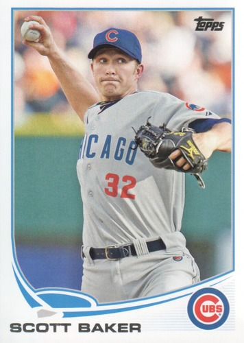 Photo of 2013 Topps #609 Scott Baker