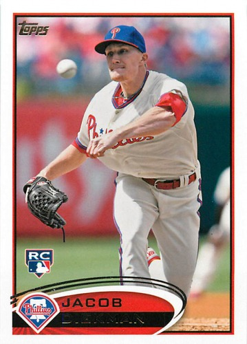 Photo of 2012 Topps Update #US85 Jacob Diekman RC