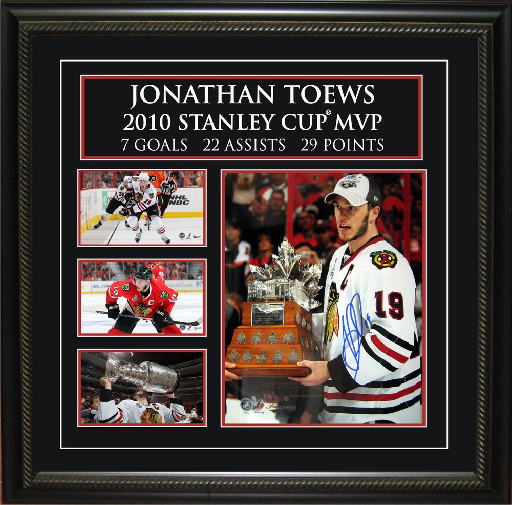 2010 Stanley Cup Jonathan Toews Signed 8