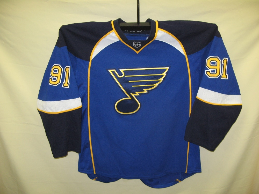 #91 TARASENKO St. Louis Blues Home Game Jersey