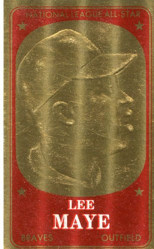 Photo of 1965 Topps Embossed #62 Lee Maye