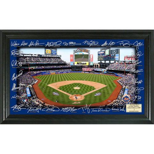 Photo of Serial #1! New York Mets 2017 Signature Field