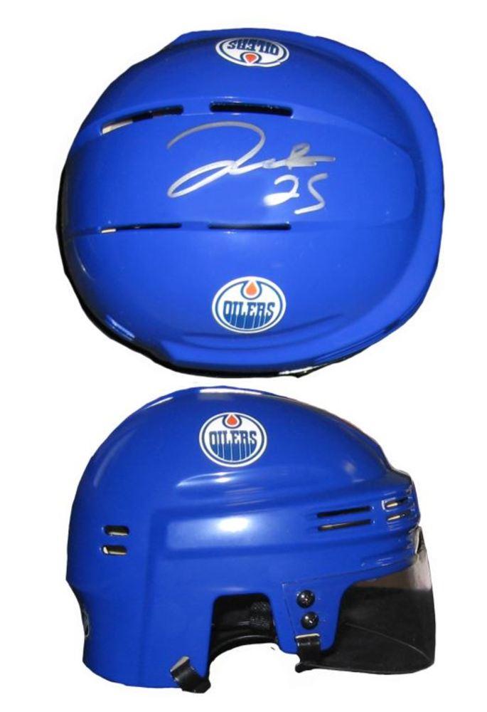 Darnell Nurse - Signed Mini Helmet Edmonton Oilers