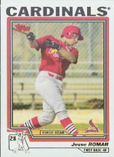 Photo of 2004 Topps #307 Jesse Roman FY RC