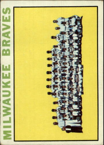 Photo of 1964 Topps #132 Milwaukee Braves TC