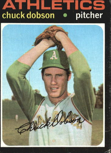 Photo of 1971 Topps #238 Chuck Dobson