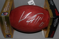 CHARGERS - KEENAN ALLEN SIGNED AUTHENTIC FOOTBALL