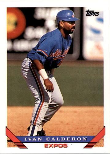 Photo of 1993 Topps #540 Ivan Calderon