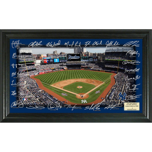 Serial #1! New York Yankees 2017 Signature Field