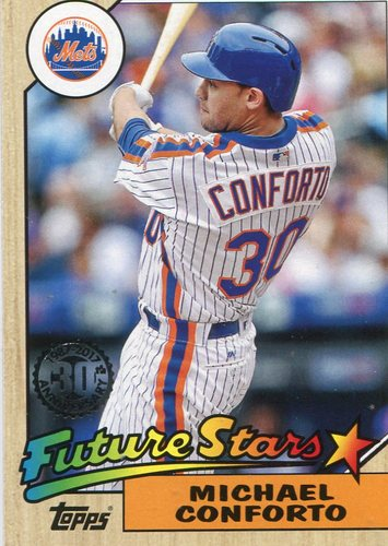 Photo of 2017 Topps '87 Topps #8781 Michael Conforto