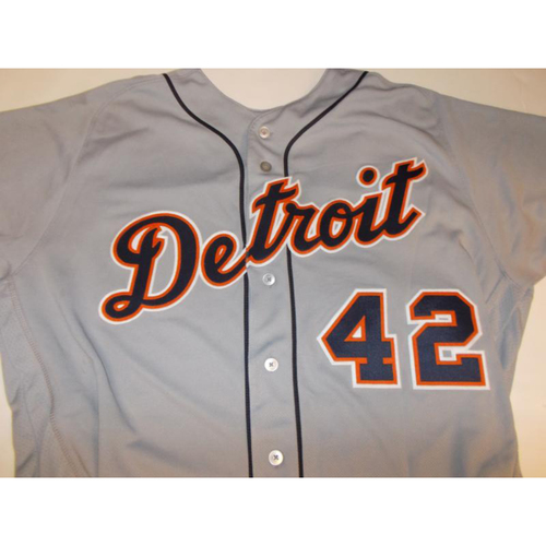 Photo of Game-Used Justin Verlander #42 Jersey