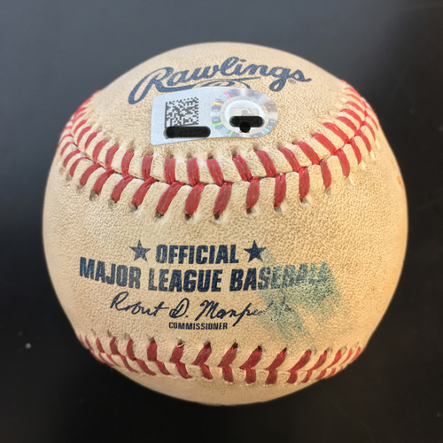 Photo of Game-Used Baseball: Jose Altuve Foul Ball