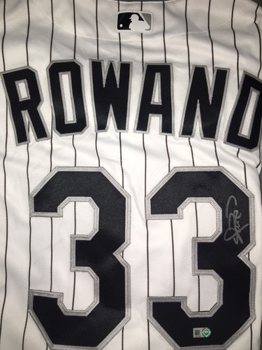Photo of Aaron Rowand Autographed Jersey - Size 46