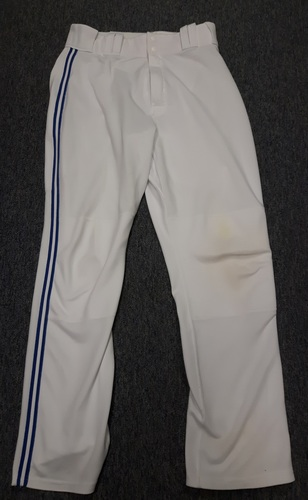 Photo of Authenticated Team Issued White Pants - #55 Russell Martin (2016 Season). Size 34-44 37 OB.