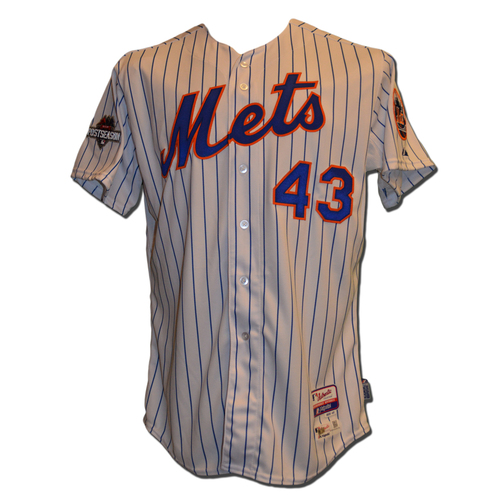 Photo of Addison Reed #43 - MLB Authenticated Team Issued 2015 Postseason Jersey - 2015 Postseason Patch on Right Sleeve