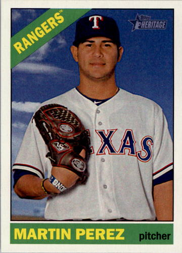 Photo of 2015 Topps Heritage #202 Martin Perez