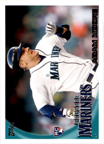 Photo of 2010 Topps #33 Adam Moore RC