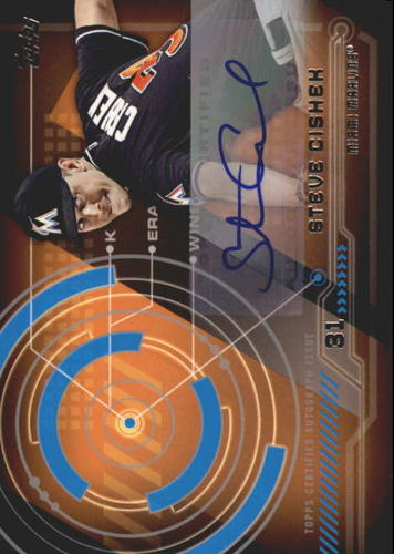 Photo of 2014 Topps Trajectory Autographs #TASC Steve Cishek S2