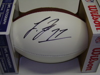 NFL - VIKINGS LAQUON TREADWELL SIGNED PANEL BALL