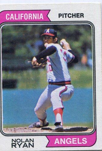 Photo of 1974 Topps #20 Nolan Ryan Hall of Famer