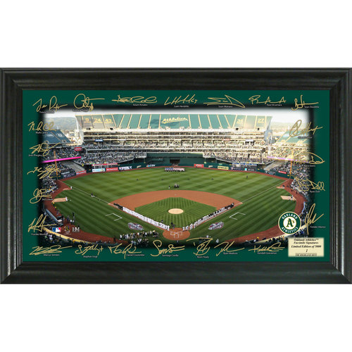 Photo of Serial #1! Oakland A's 2017 Signature Field