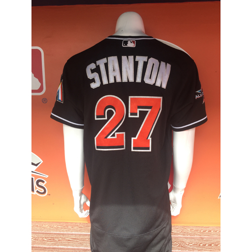 Photo of Giancarlo Stanton - 2 Home Run Game Jersey