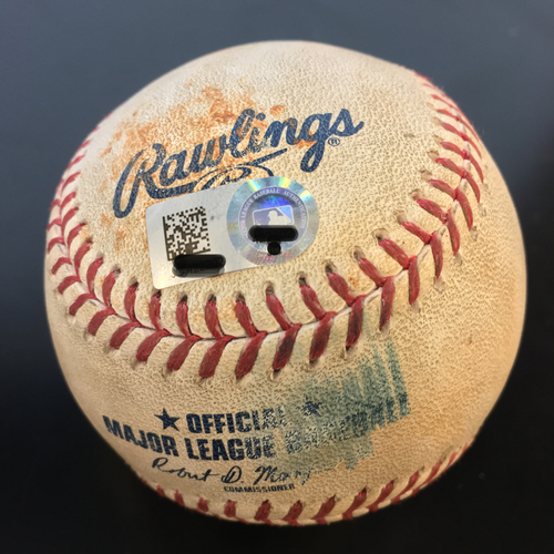 Photo of Game-Used Baseball: George Springer Foul Ball