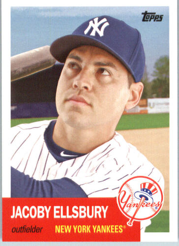 Photo of 2016 Topps Archives #40 Jacoby Ellsbury -- Yankees post-season