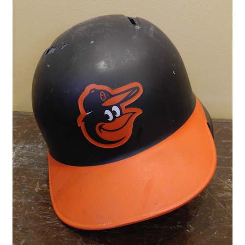 Manny Machado - Batting Helmet: Team-Issued