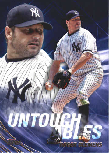 Photo of 2017 Topps Update Untouchables #U30 Roger Clemens