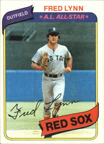 Photo of 1980 Topps #110 Fred Lynn DP