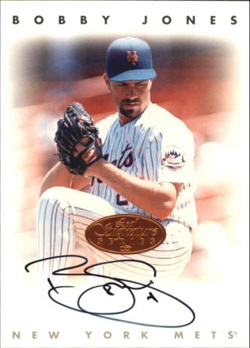 Photo of 1996 Leaf Signature Autographs #119 Bobby Jones