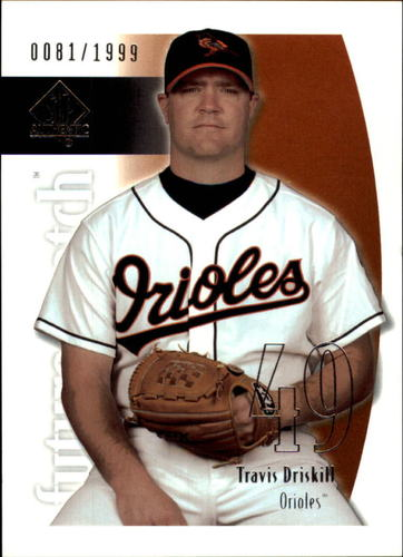 Photo of 2002 SP Authentic #201 Travis Driskill FW RC