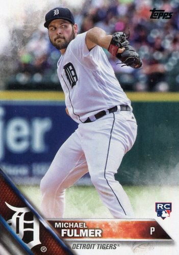 Photo of 2016 Topps Update #US152A Michael Fulmer RC -- Detroit Tigers rookie card