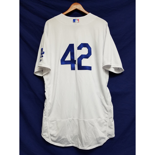 "Photo of Bobby Wilson Team-Issued ""42"" Jersey"