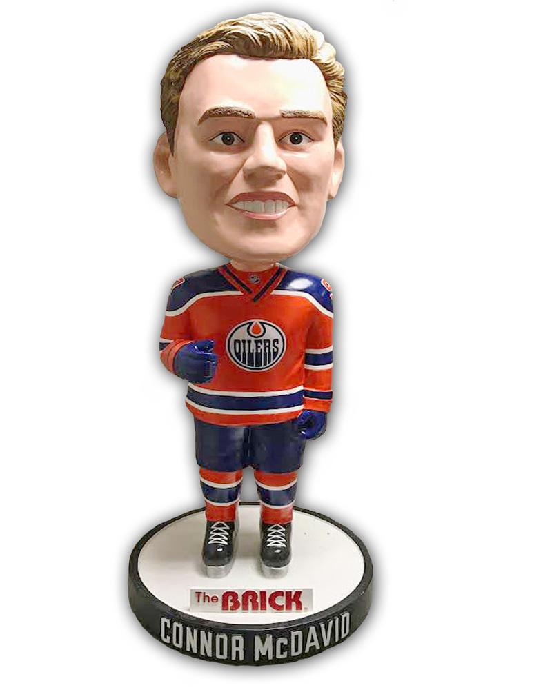 Connor McDavid #97 - Edmonton Oilers Life Size Bobblehead Figurine