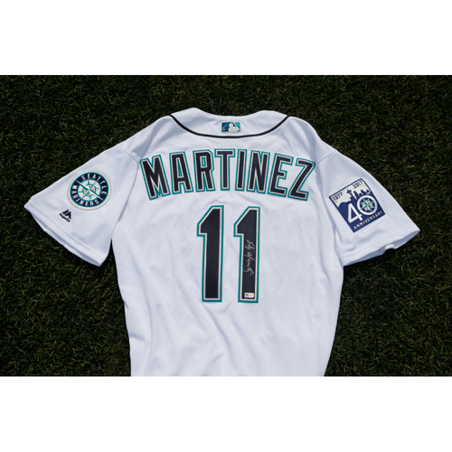 Photo of Mariners Care Charity Night: Edgar Martinez Autographed Jersey and Number Retirement Tickets
