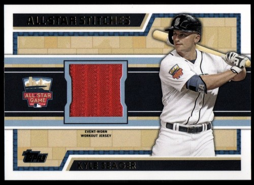 Photo of 2014 Topps Update All Star Stitches #ASRKSE Kyle Seager